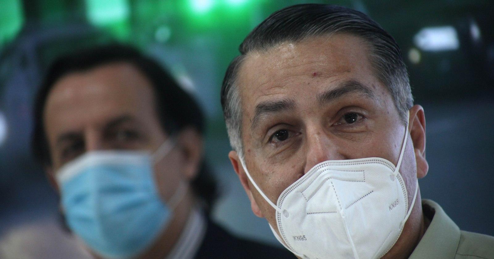"""""""General Rozas niega coordinación con Ministerio de Defensa durante manifestaciones"""""""