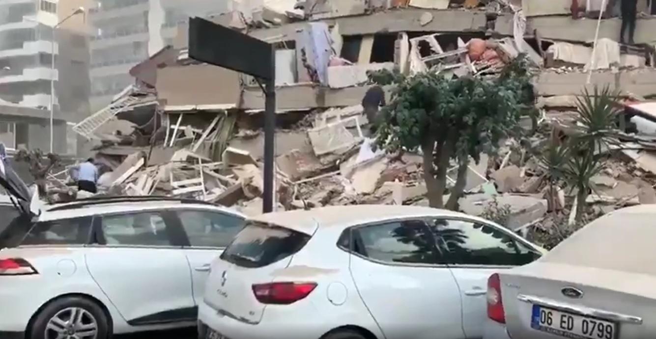 Terremoto deja ya 14 muertos en Turquía y Grecia y más de 400 heridos