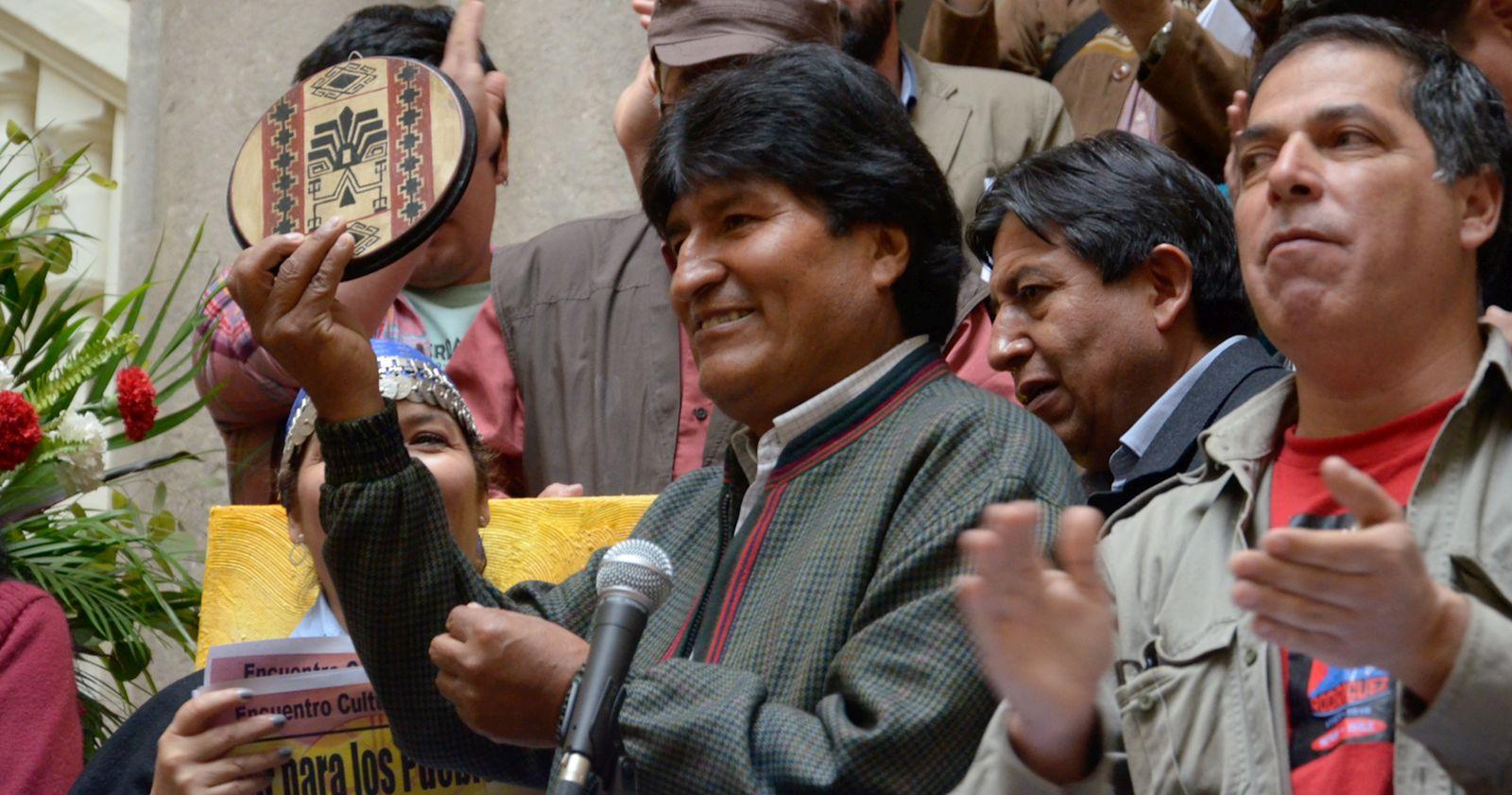 """""""Evo Morales dejó Argentina y viajó rumbo a Venezuela"""""""