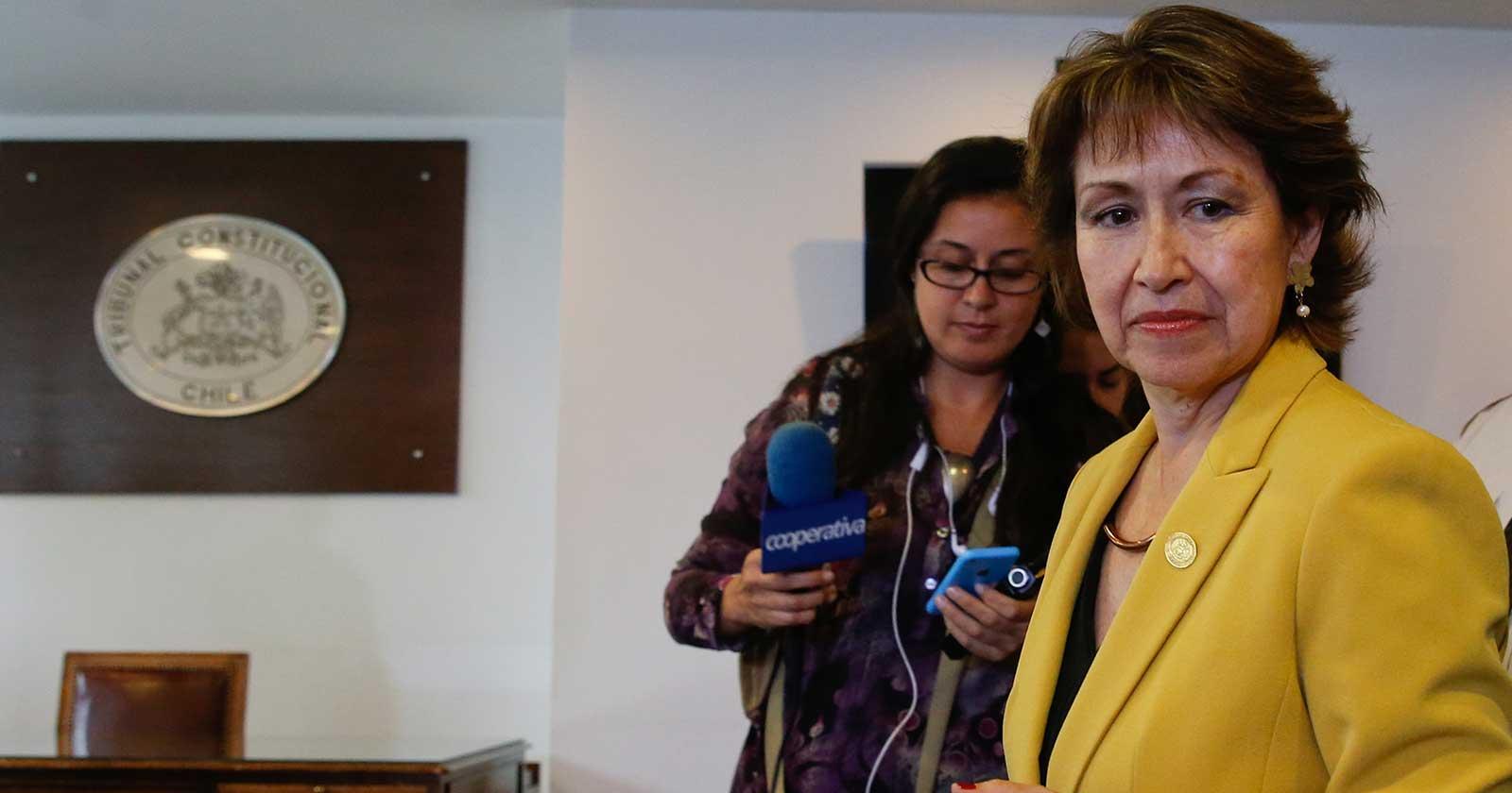 Marisol Peña, ex presidenta del Tribunal Constitucional (Agencia Uno/Archivo).