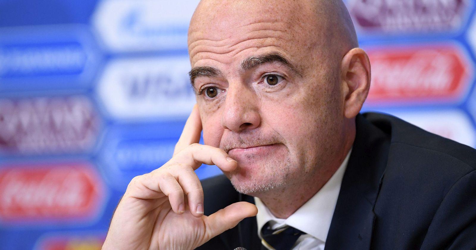 """""""Gianni Infantino, presidente de la FIFA, dio positivo por coronavirus"""""""