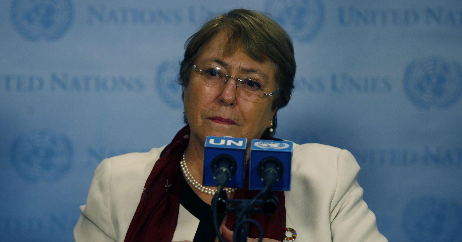 Michelle Bachelet no pudo votar en el plebiscito 2020