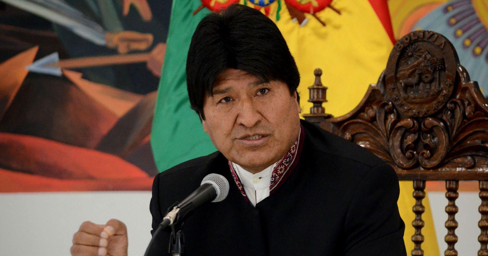 """""""Justicia de Bolivia anula la orden de arresto contra Evo Morales"""""""