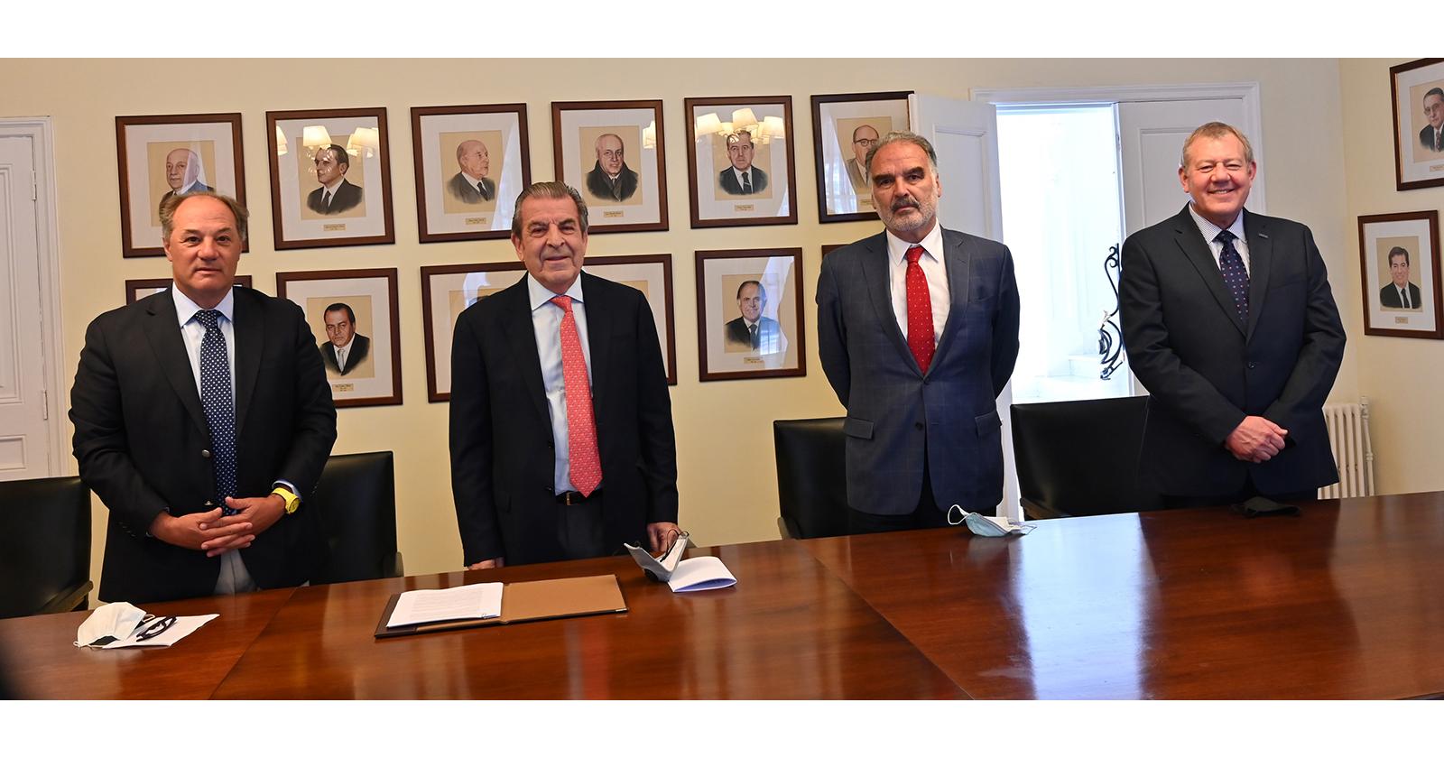 CPC y CPI firman convenio para trabajar en la reactivación económica del país