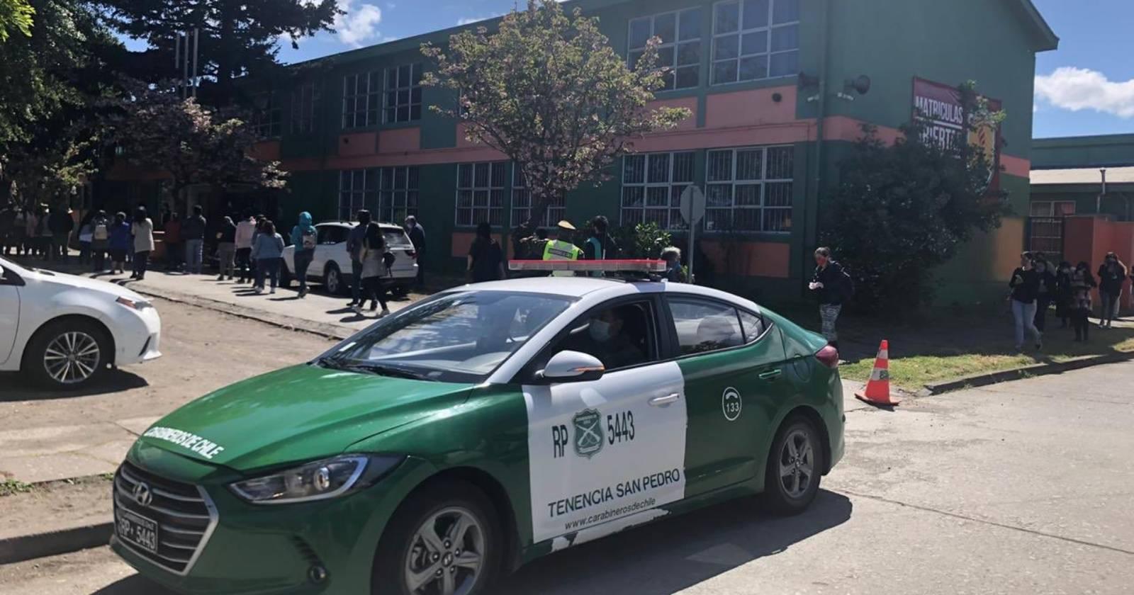 Mujer fue detenida por fotografiar su voto en San Pedro de la Paz