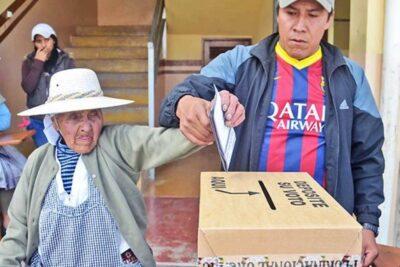 Elecciones en Bolivia registraron histórica participación del 87% de los votantes