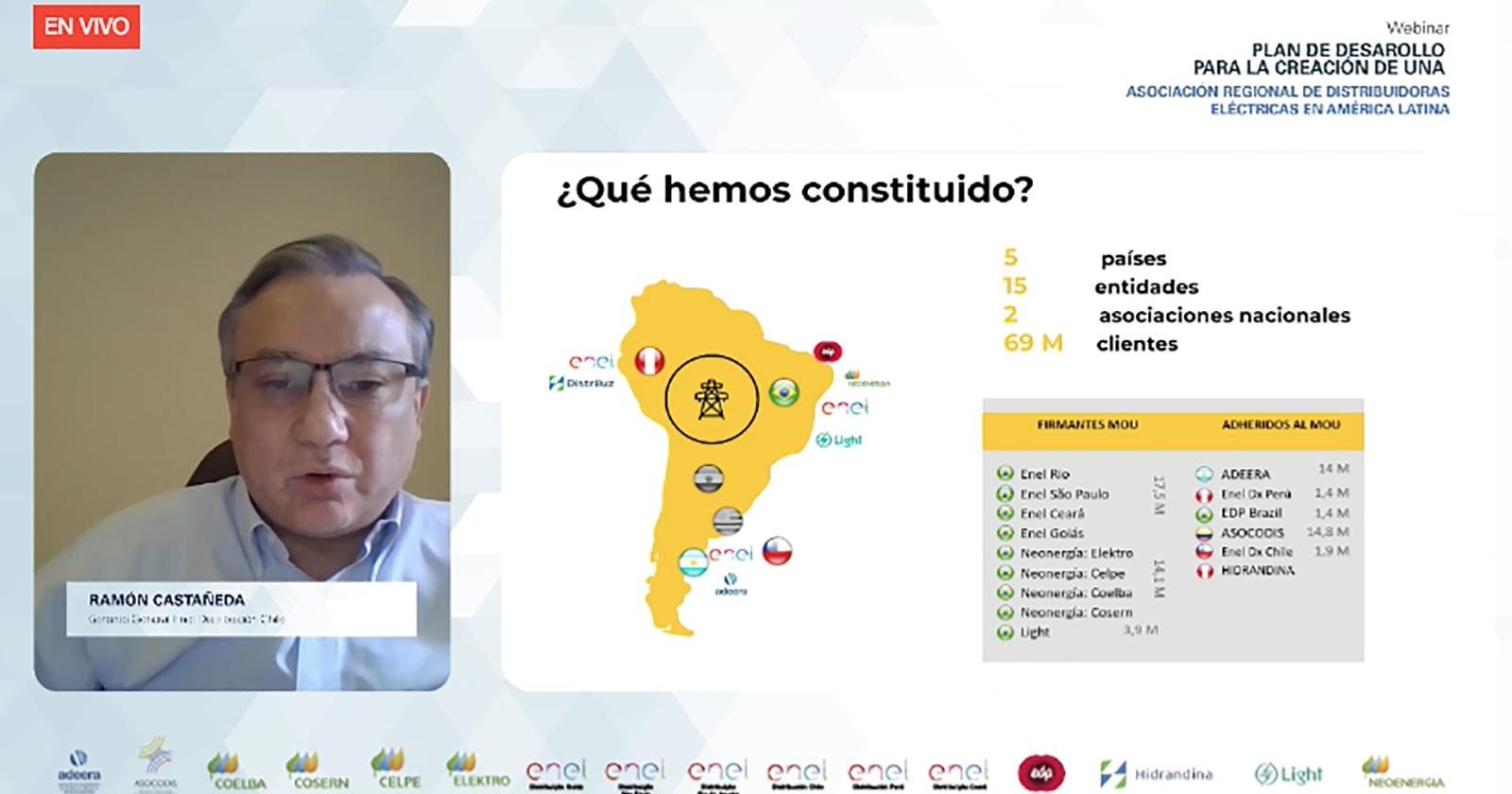 Energía: Distribuidoras en América Latina se unen en asociación y organizan su primer seminario web interno