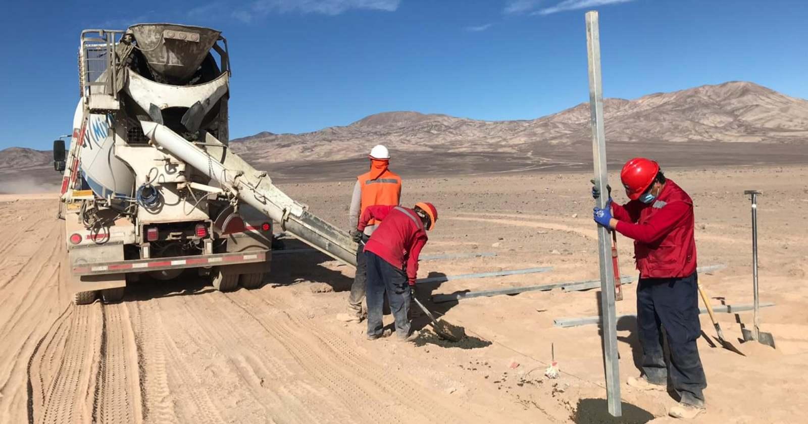 Comienza la construcción de la planta solar Domeyko en la Región de Antofagasta