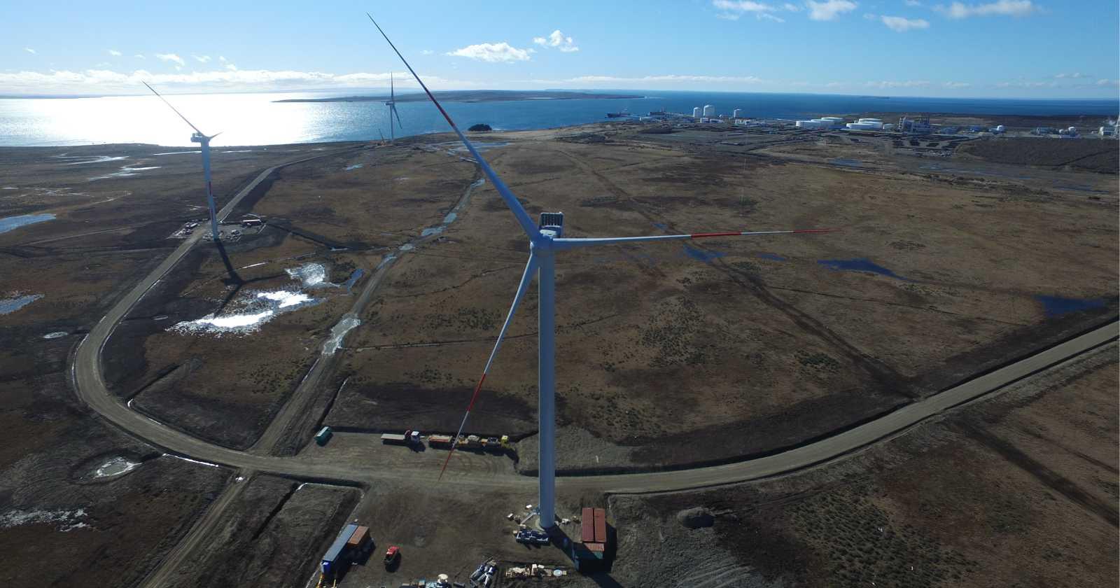 Culminan exitosamente las pruebas en el nuevo parque eólico Vientos Patagónicos