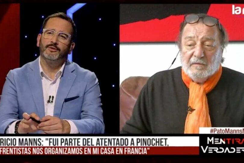 Patricio Manns relata que fue parte del atentado a Pinochet en el Cajón del Maipo