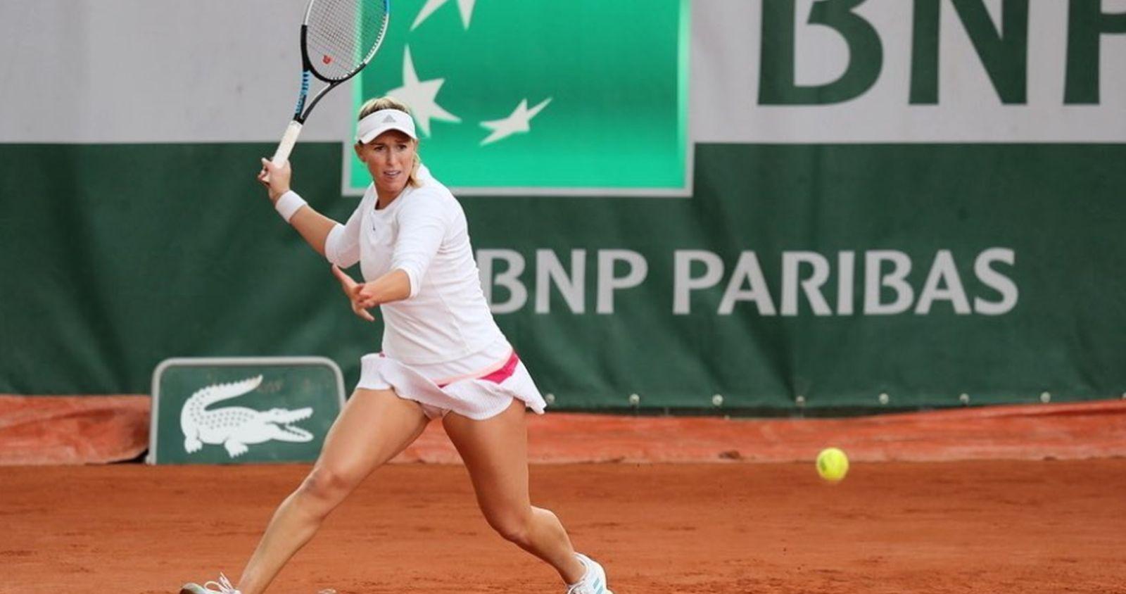 """""""Alexa Guarachi avanza a la semifinal de dobles en Roland Garros"""""""
