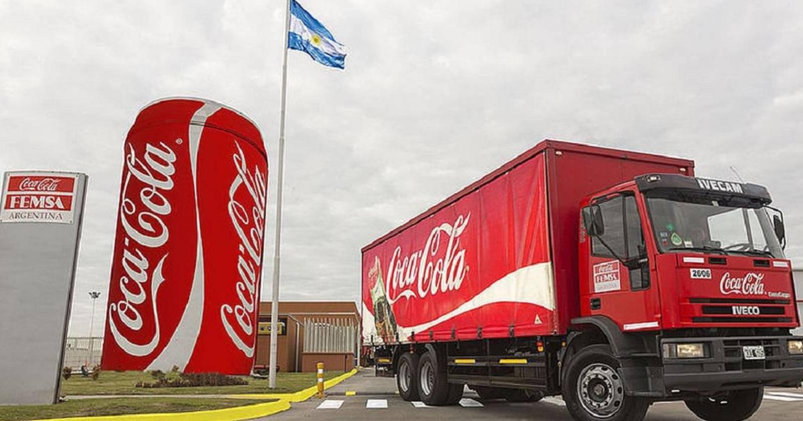 Coca Cola de Argentina traslada sus oficinas a Brasil, pero mantendrá sus embotelladoras en Buenos Aires