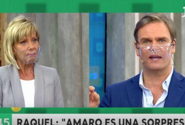 Raquel Argandoña y Amaro Gómez-Pablos aclararon supuesta pelea en reunión del Bienvenidos