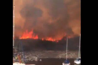 Gobierno de Boliviadecreta desastre nacional por incendios y sequías