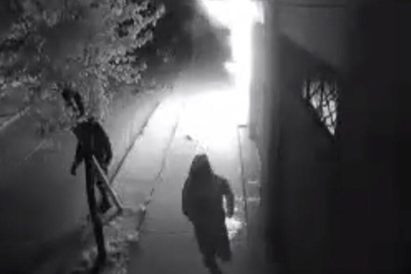 VIDEO – Voluntario de Bomberos fue detenido por provocar incendio en Fiscalía de Villa Alemana
