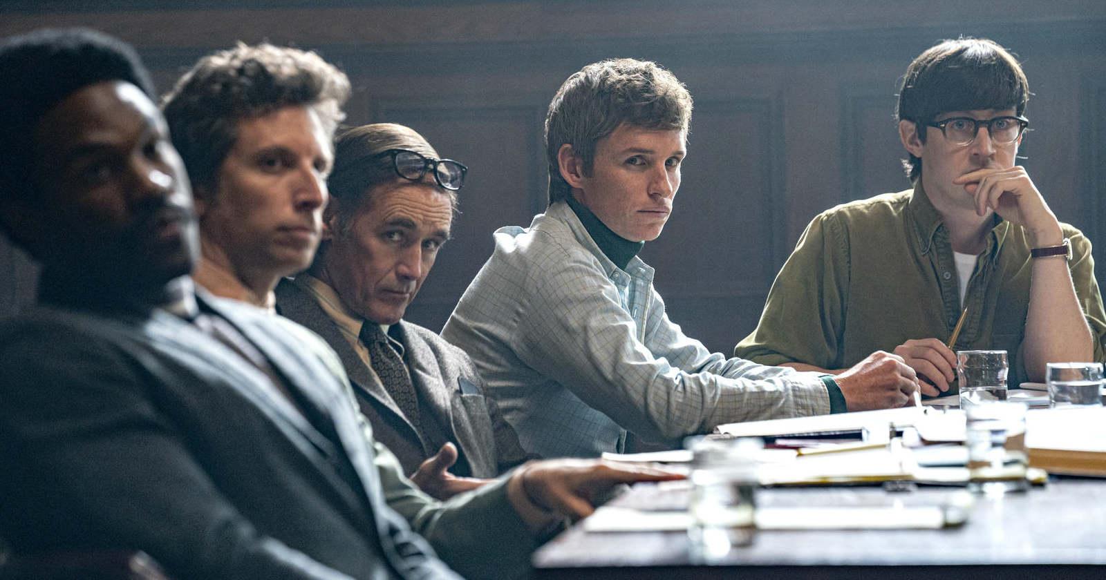 El Juicio de los 7 de Chicago: la película basada en una historial real y con un elenco de lujo