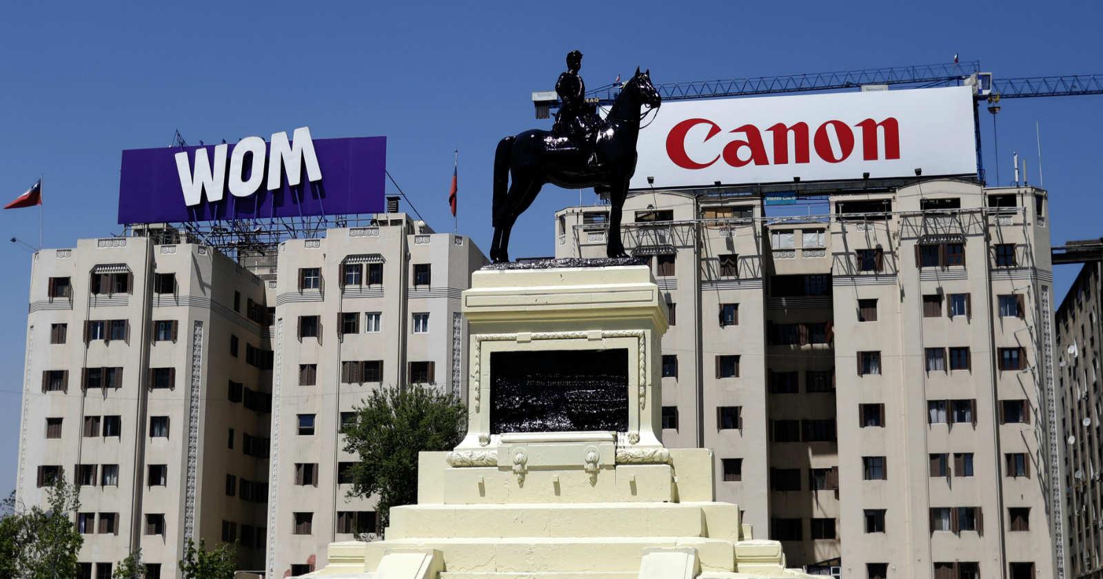 Intendencia confirmó que estuvo a cargo de la reparación de la estatua del general Baquedano