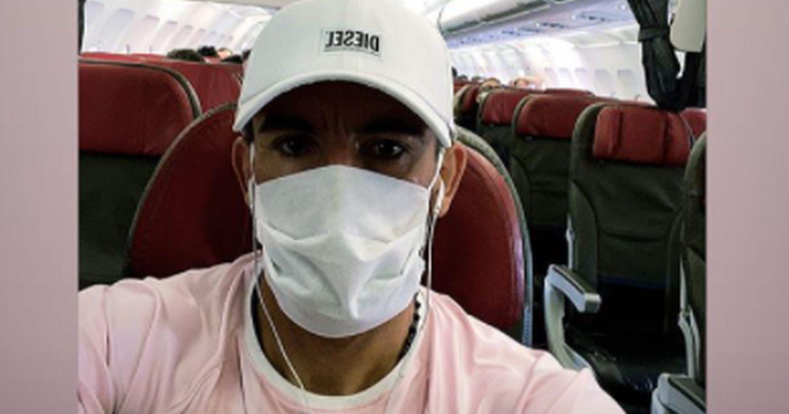 Mauricio Isla inició su viaje a Chile para sumarse a la Roja