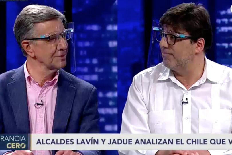 Las diferencias y coincidencias de Jadue con Lavín ante una nueva Constitución