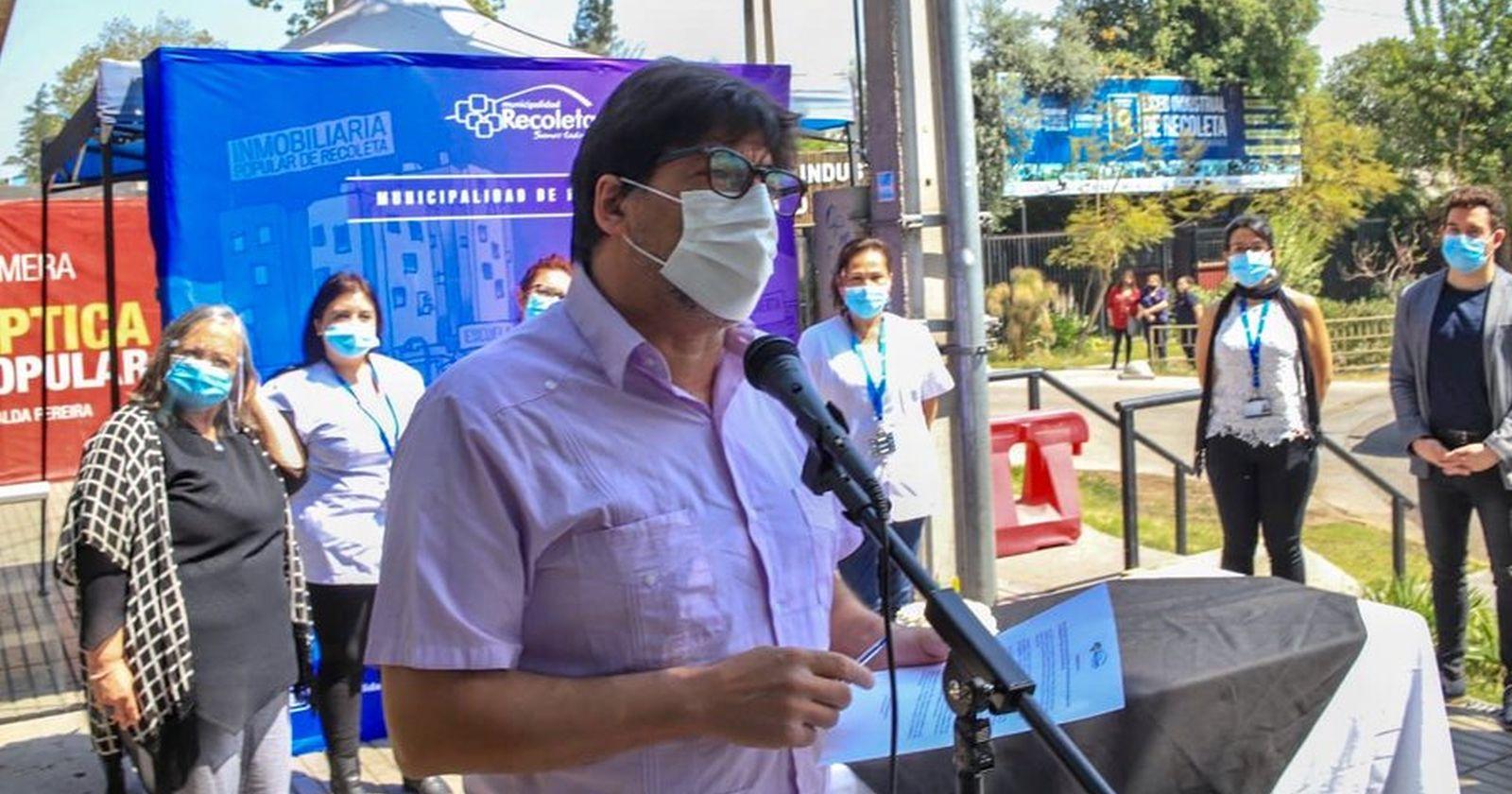 Daniel Jadue anuncia llegada a Chile de tratamiento ruso contra el coronavirus