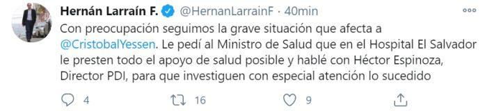 Larraín Cristóbal Yessen