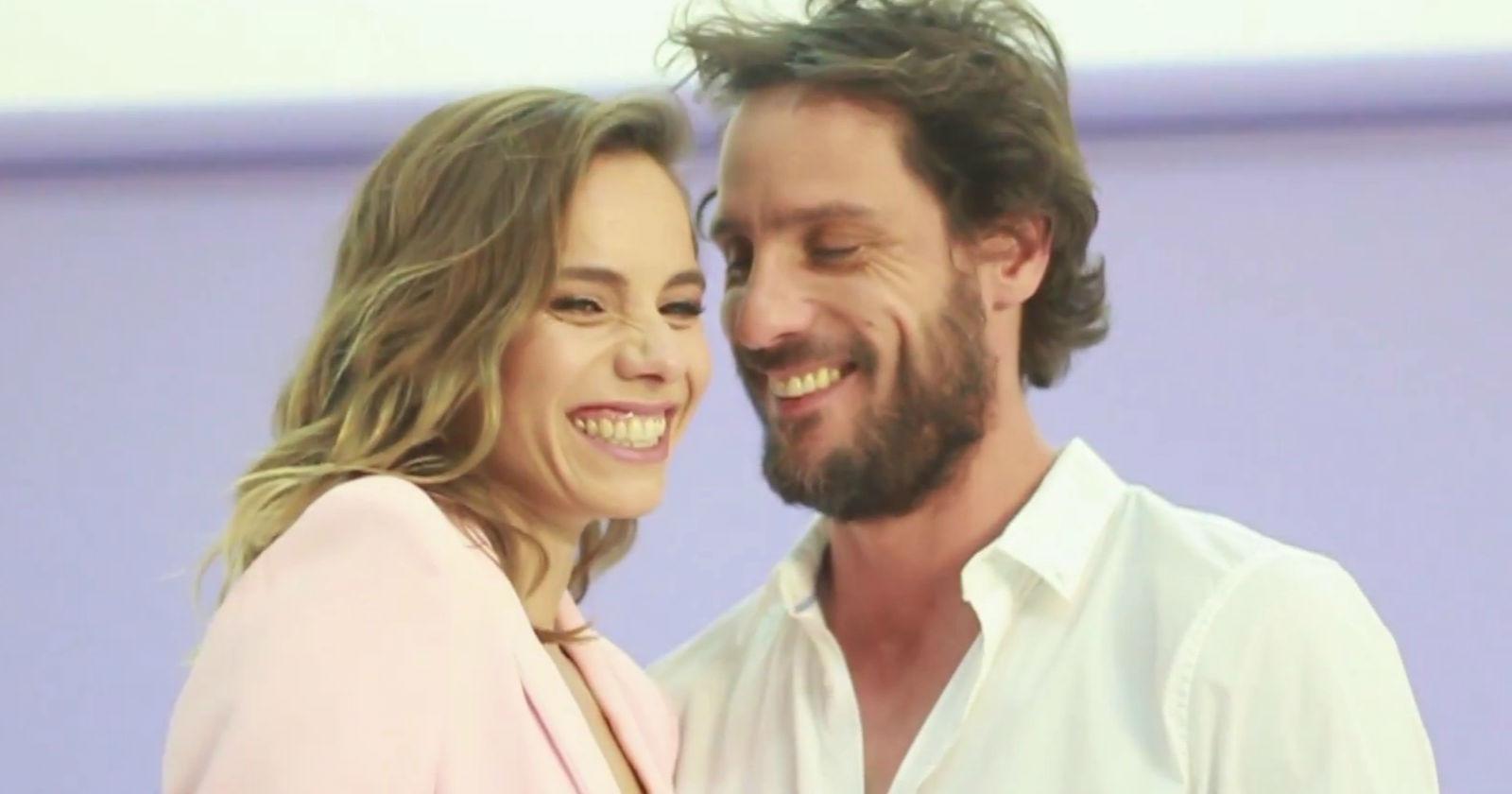 María Gracia Omegna y Gonzalo Valenzuela presentaron a su hija Anka durante entrevista