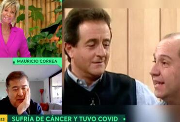 """VIDEO – """"Eran pareja en esa época"""": Mauricio Correa confirmó romance entre Felipe Camiroaga y Karen Doggenweiler"""