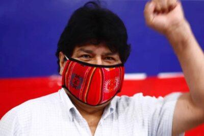 """Evo Morales ante victoria del MAS en Bolivia: """"El gran triunfo del pueblo es histórico, inédito y único en el mundo"""""""