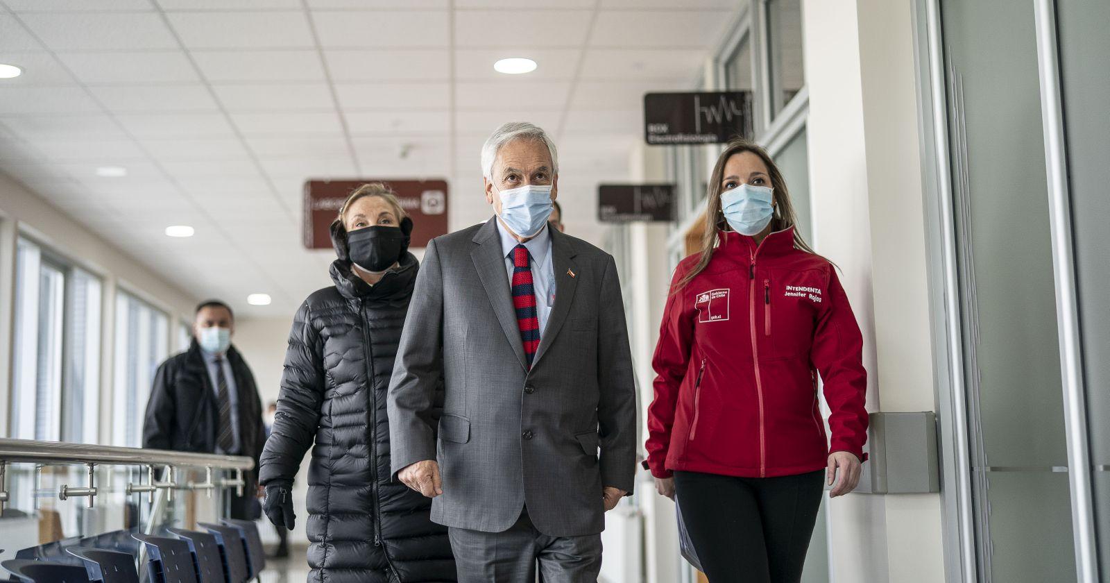 Intendenta de Magallanes acompañó a Piñera tras cuarentena preventiva
