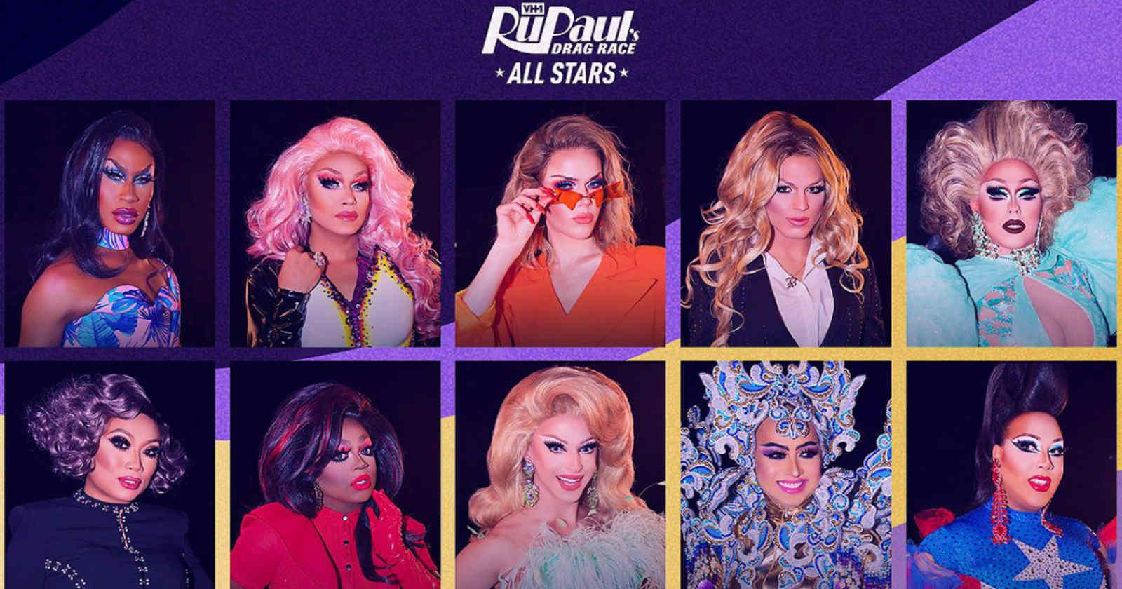 Netflix estrenó la quinta temporada de RuPaul's Drag Race All Star 5