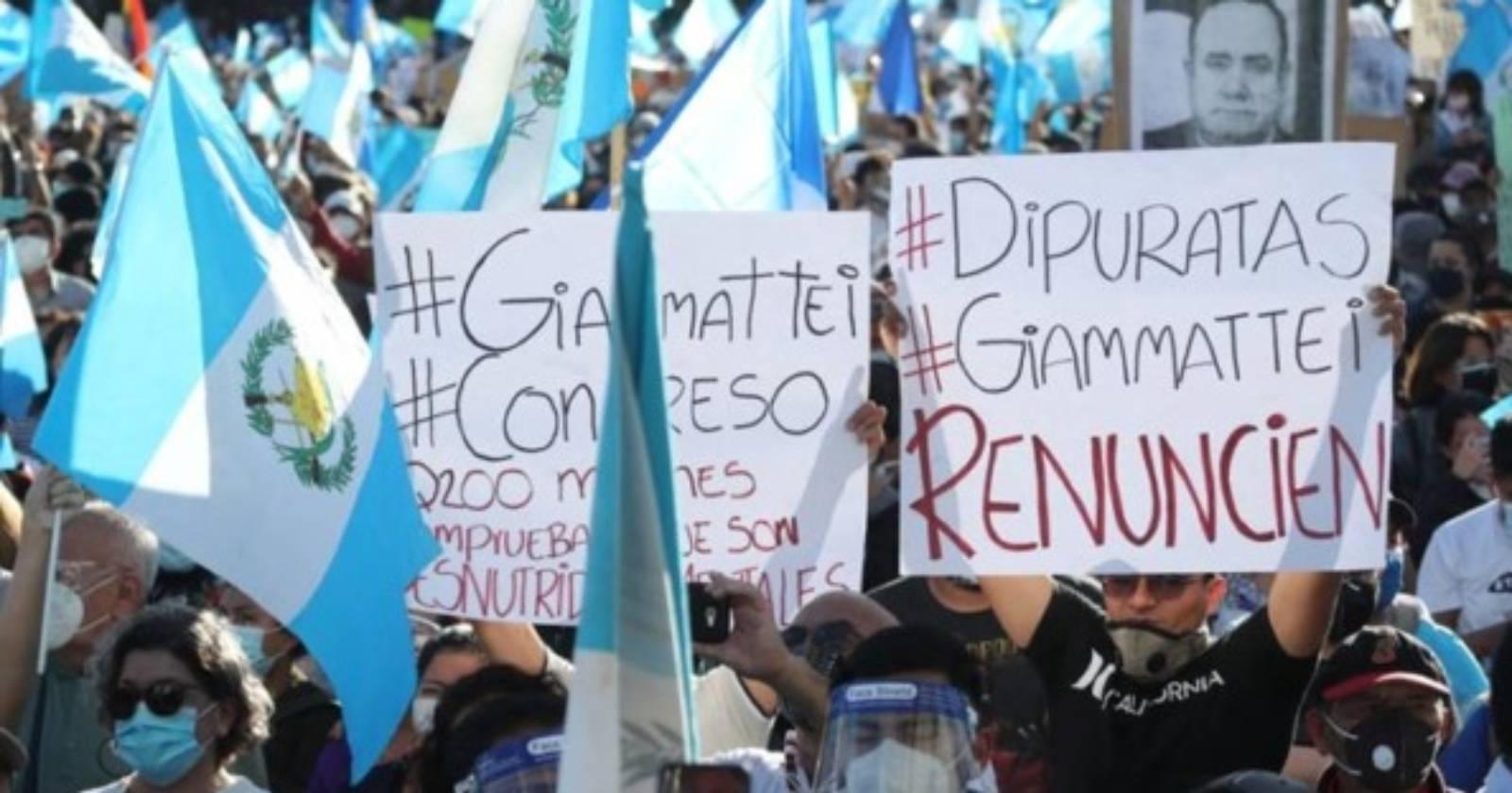 Guatemala estallido