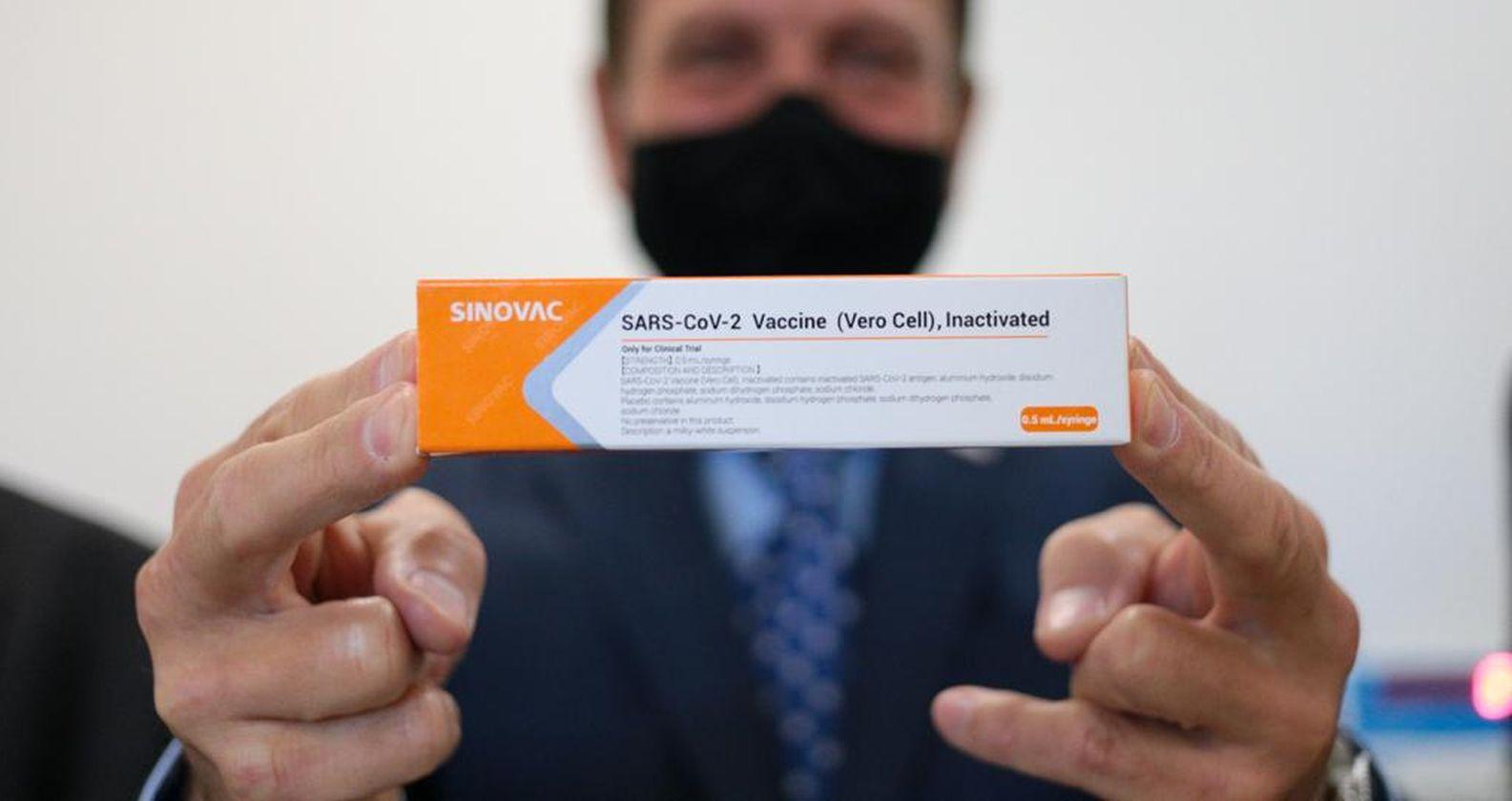 Llegan a Chile las dosis para los ensayos de la vacuna de Sinovac