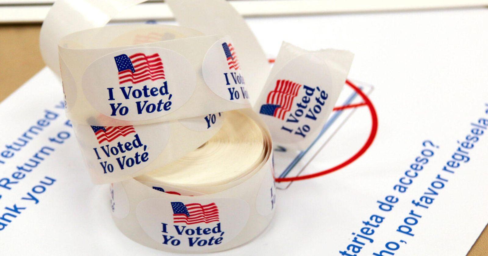 Voto anticipado alcanza récord de 100 millones en Estados Unidos
