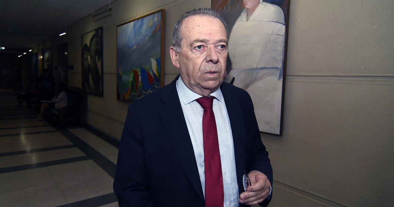 Diputado Bernardo Berger en los pasillos del Congreso: Fuente: Agencia Uno.