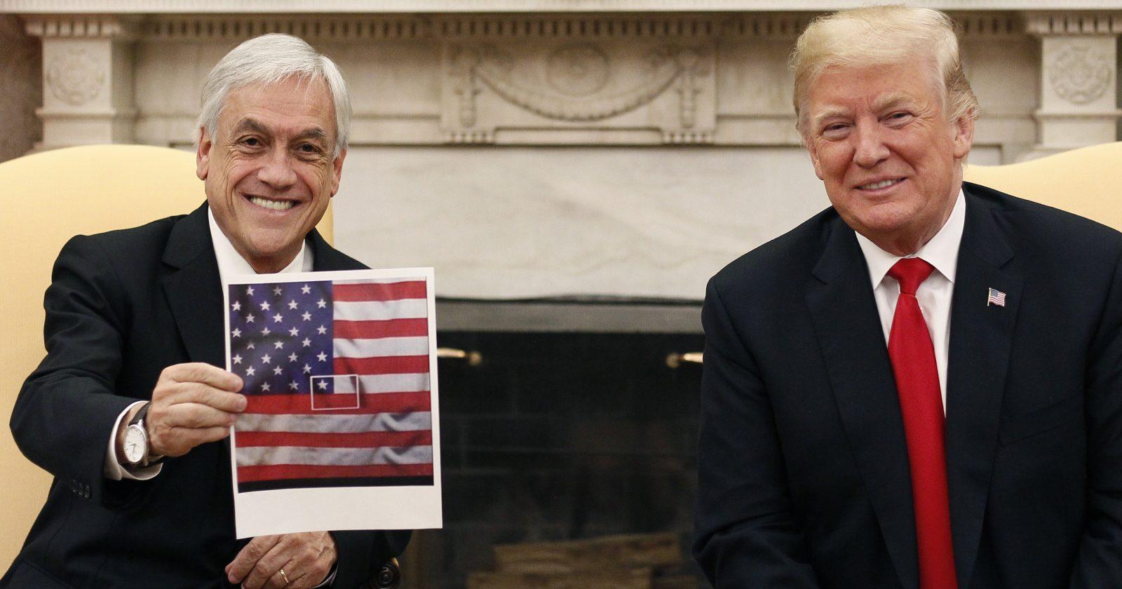 """""""Piñera a Trump: """"Hay que saber ganar con gracia y perder con hidalguía"""""""""""