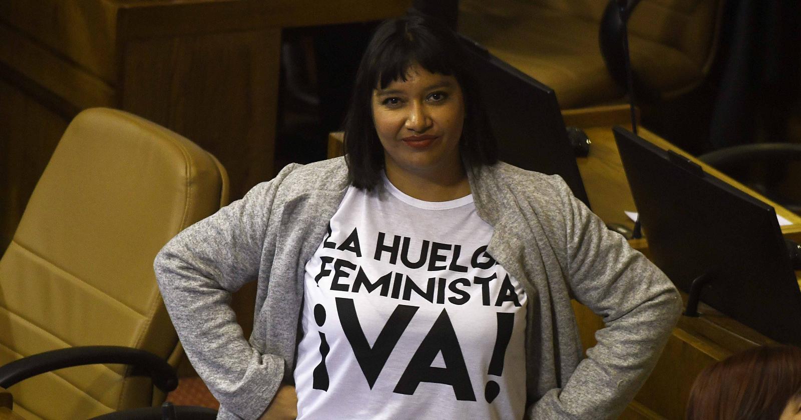 """Diputada Natalia Castillo acusa"