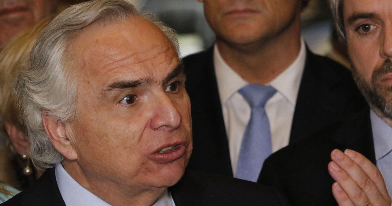 Chadwick compareció ante el Tribunal Oral en lo Penal de Angol. Foto: Agencia UNO
