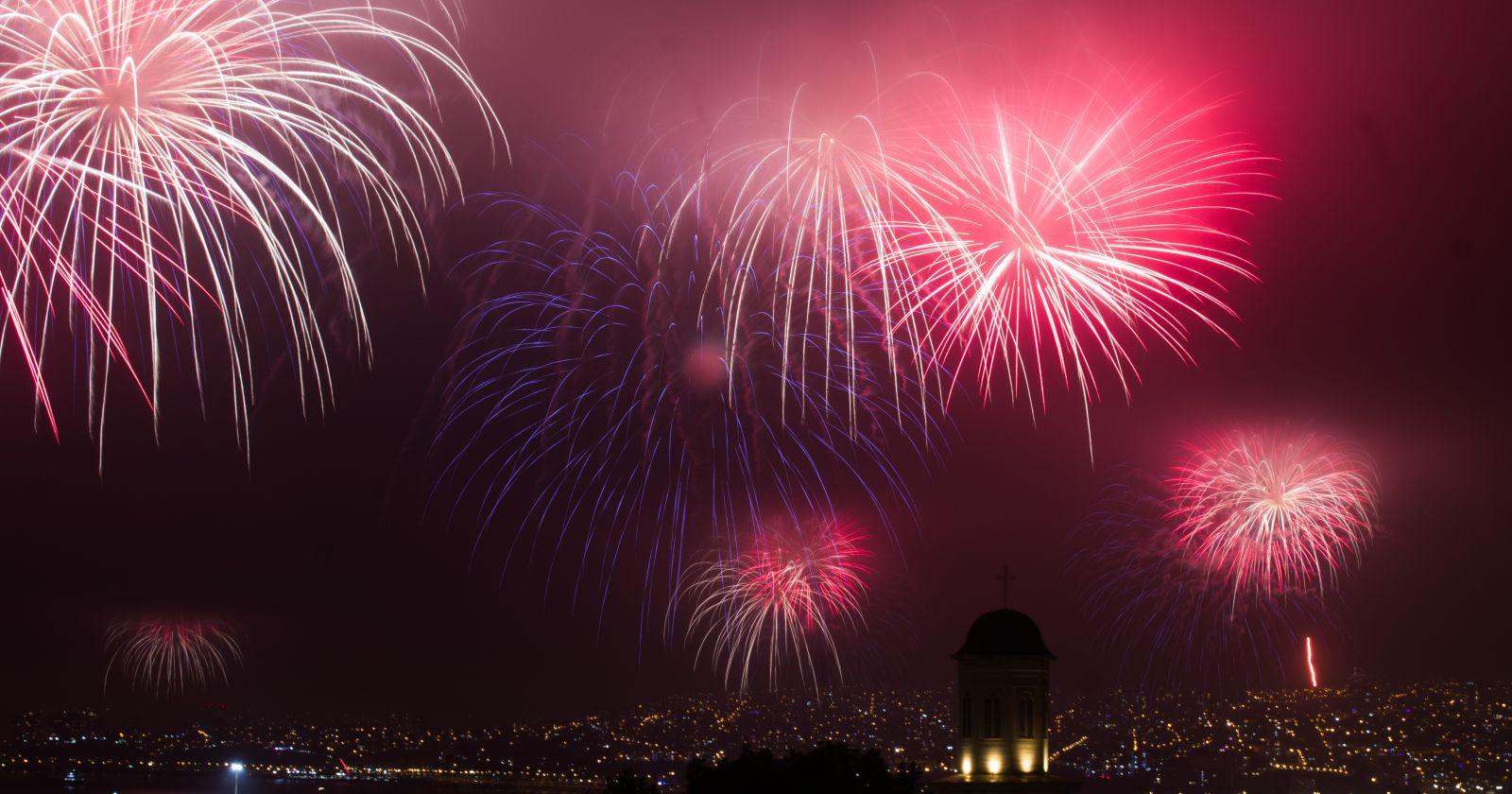 Valparaíso mantendrá su show de fuegos artificiales en Año Nuevo