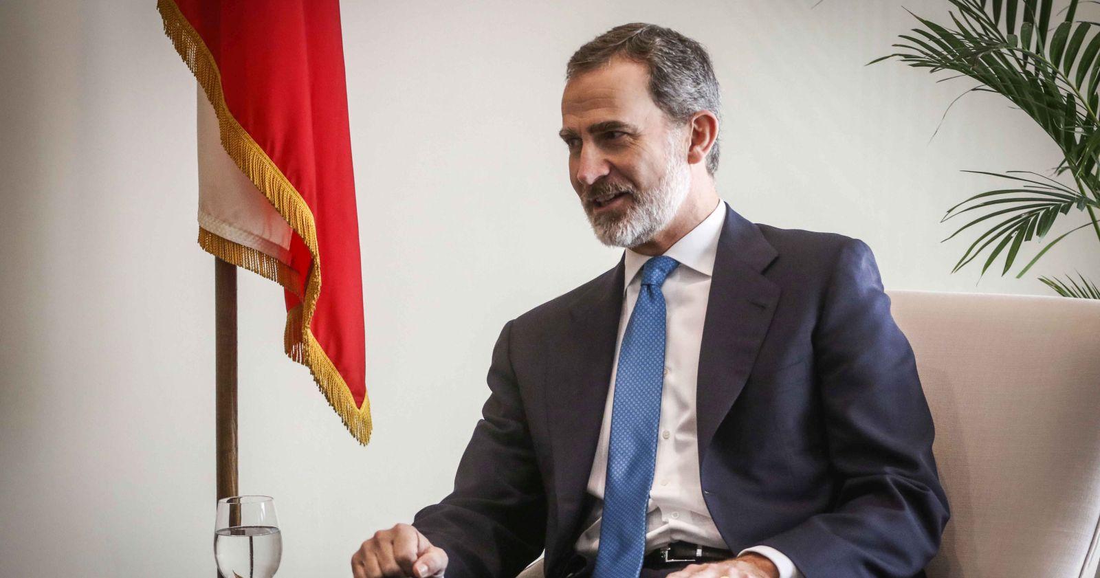 España: Felipe VI entró en cuarentena preventiva por contacto estrecho con contagiado con COVID-19