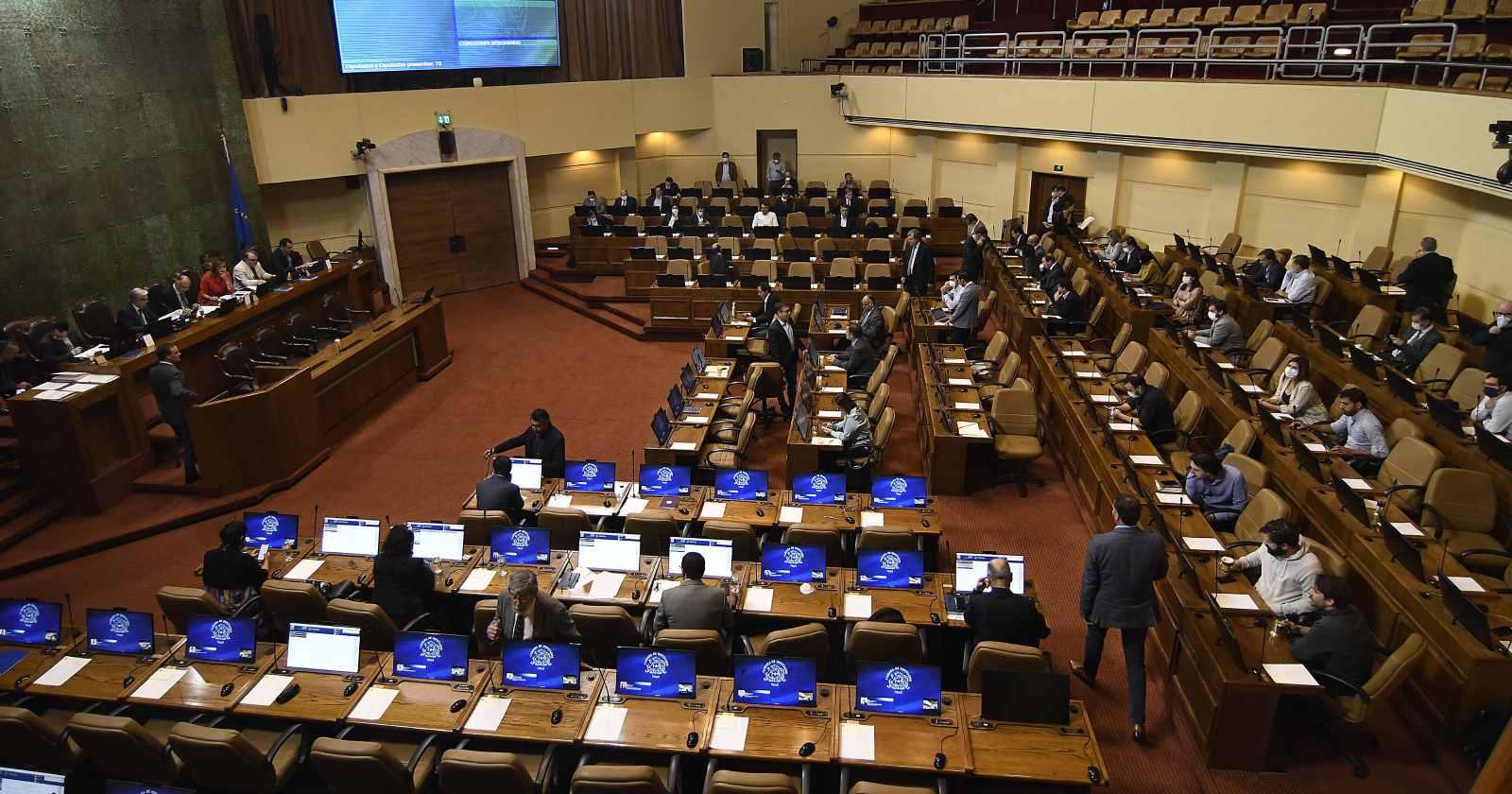 Cámara: 23 diputados y 8 funcionarios inician cuarentena preventiva por COVID