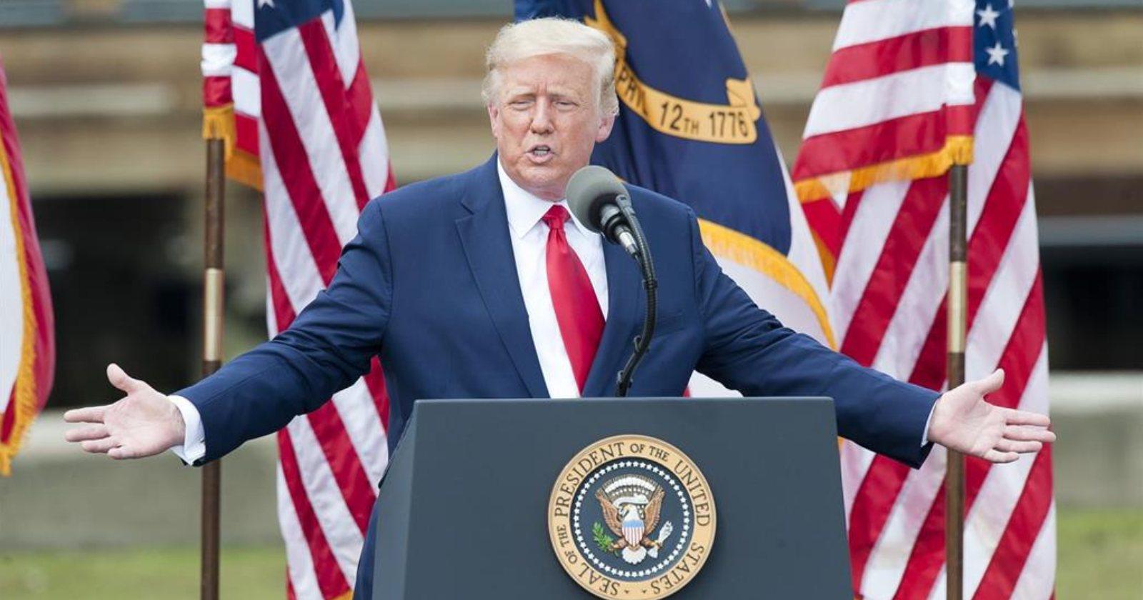 """Donald Trump reconoce triunfo de Biden: """"Él ganó porque la elección fue amañada"""""""