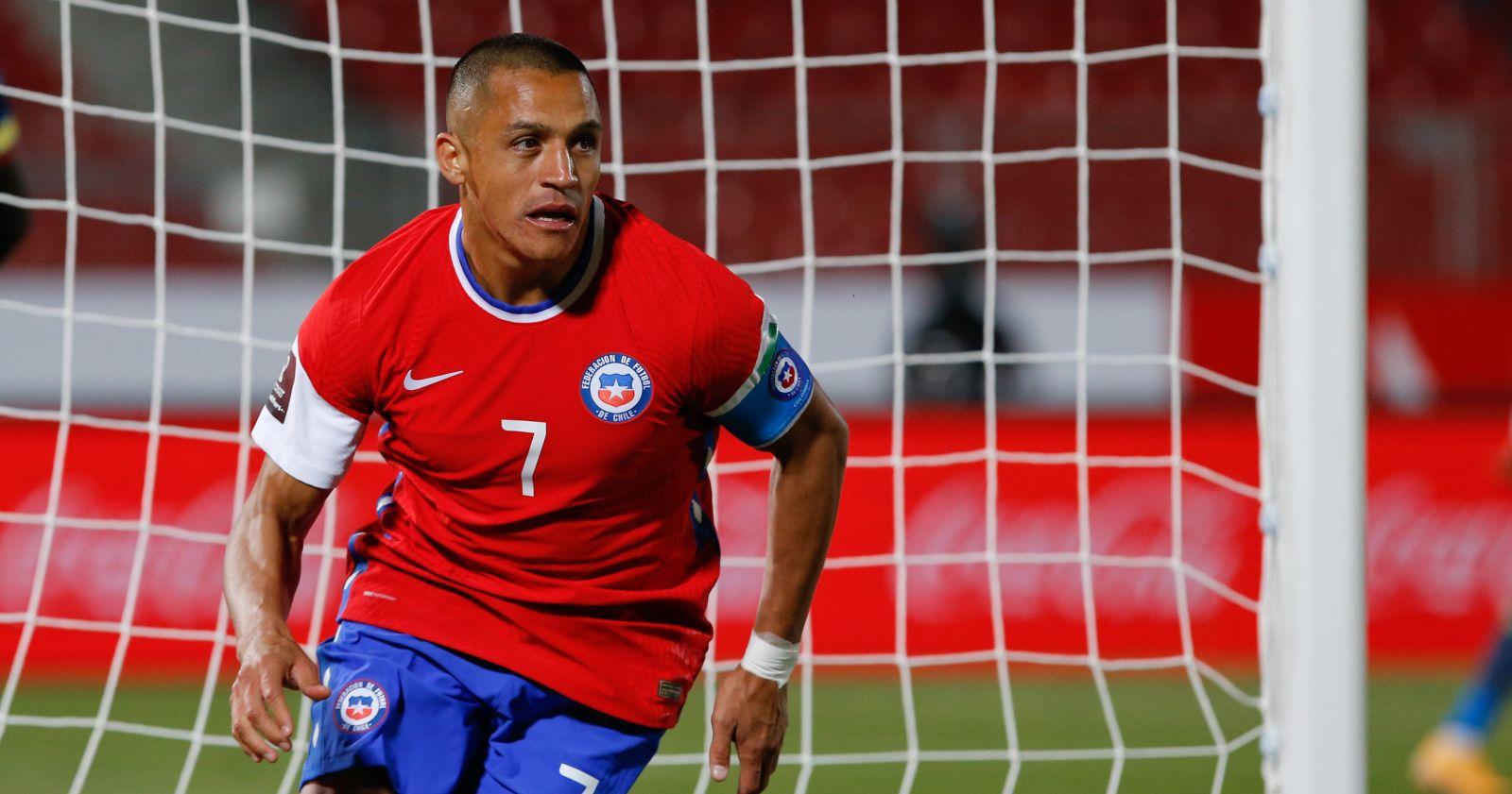 Alexis Sánchez encendió las alarmas durante el entrenamiento de la Roja