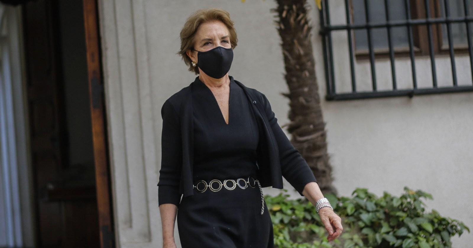 Así quedó la casa de la ministra Gloria Hutt tras manifestación de ciclistas