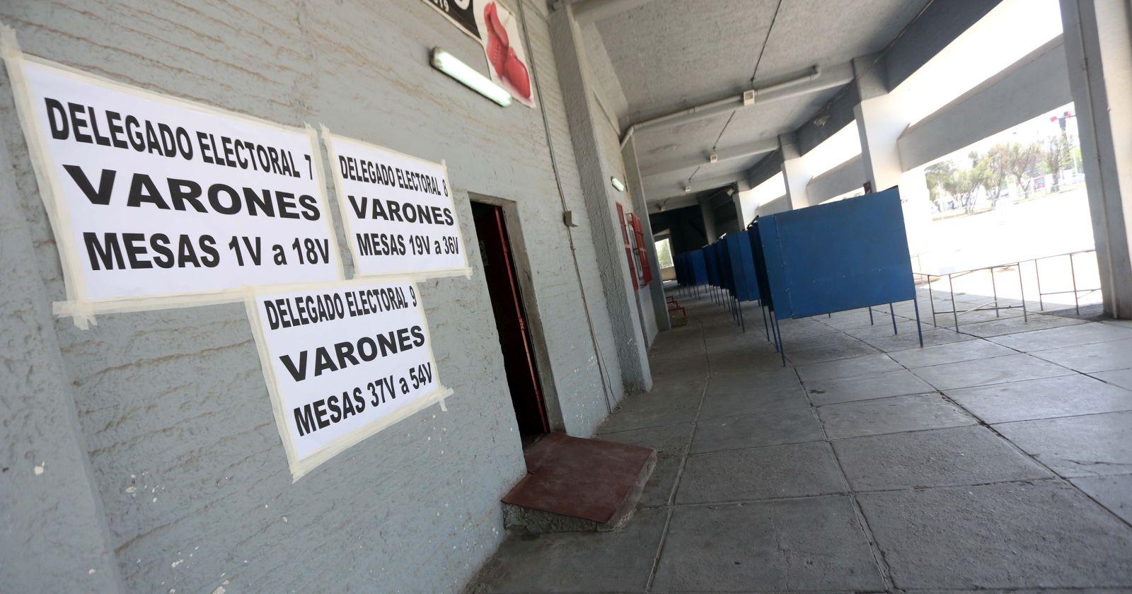 Elecciones primarias retomarán horario original de funcionamiento de mesas