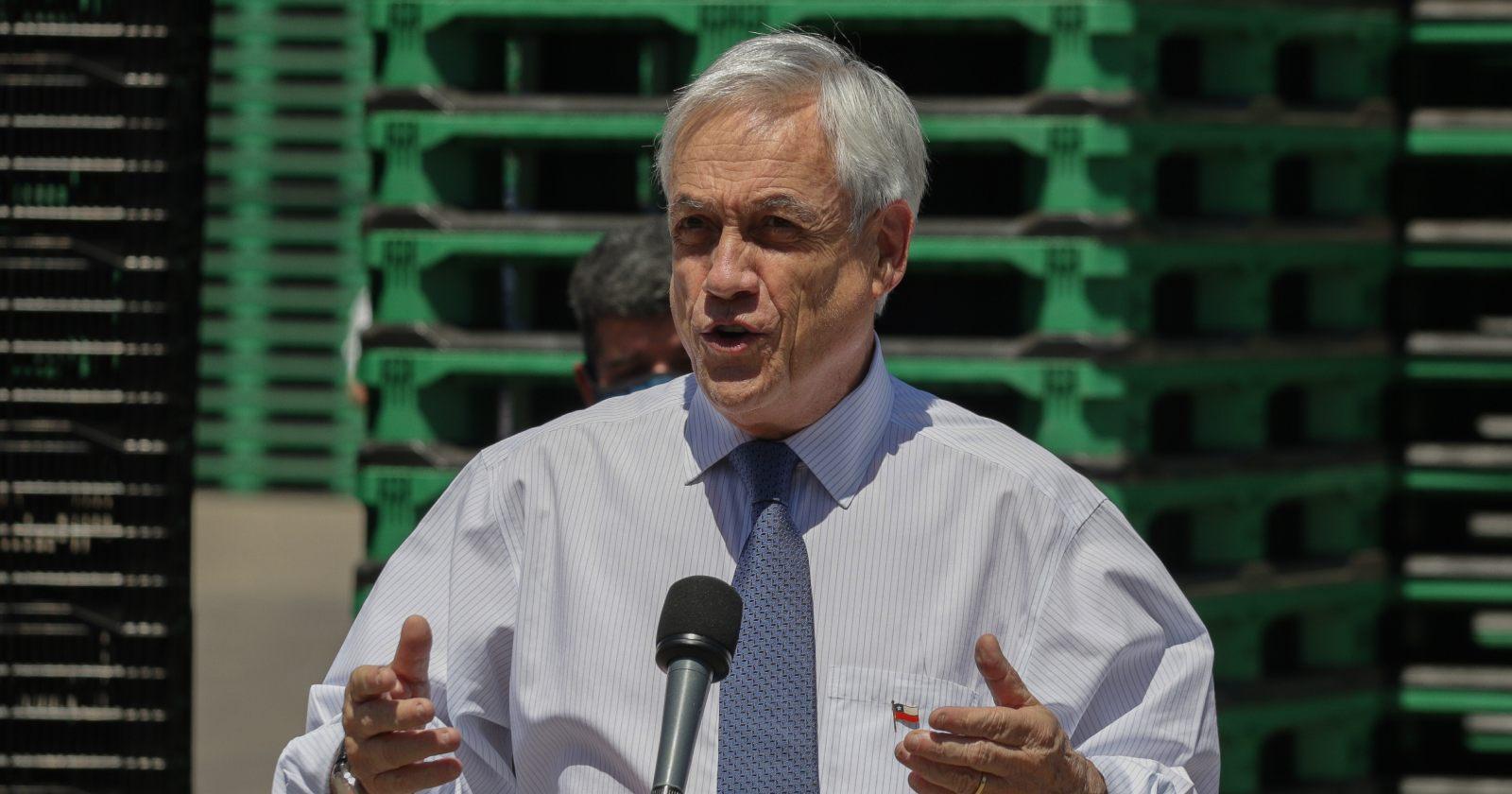 """""""Piñera respalda a Pérez en la previa de acusación constitucional:"""