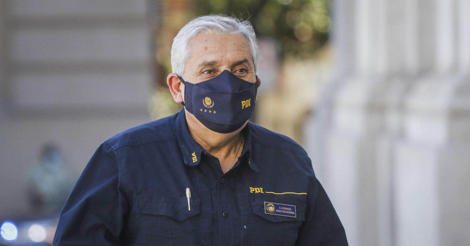 """""""Héctor Espinosa tras fallo por atentado a la estación Pedrero: """"La PDI no hace montajes"""""""""""