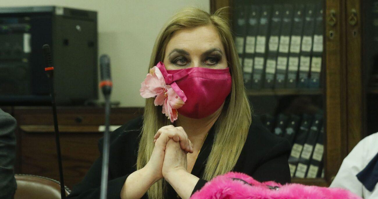 La diputada Pamela Jiles. (Foto: Agencia Uno)