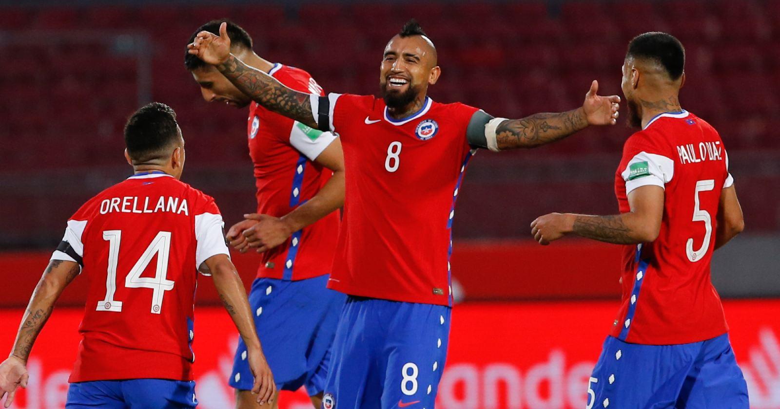 VIDEOS | Los goles de Arturo Vidal que le dieron el triunfo a Chile ante Perú