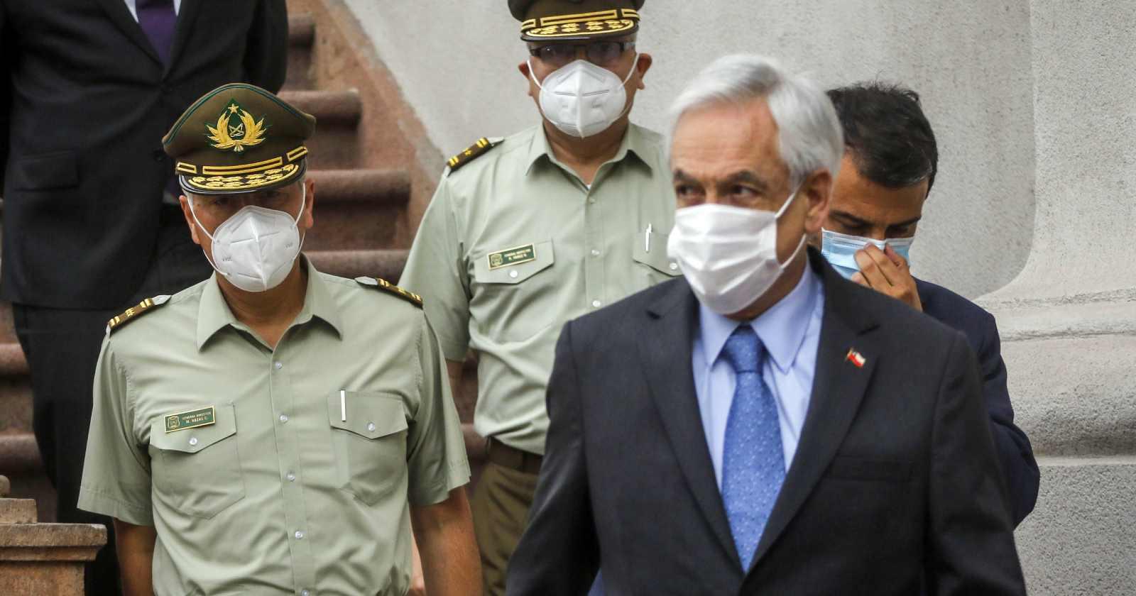 """""""El gesto de Piñera a Rozas tras anunciar salida:"""