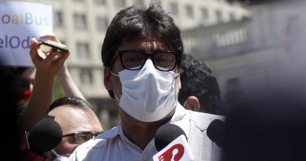 Daniel Jadue, alclade de Recoleta. Foto: Agencia Uno